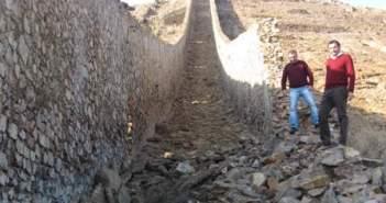 Cultura participa en la recuperación de la chimenea.