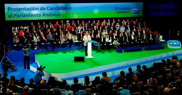 Presentación en Estepona de los candidatos del PP.