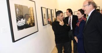 Inauguración de la exposición de Pinkhassov.