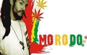 Cartel anunciador del concierto de Morodo.