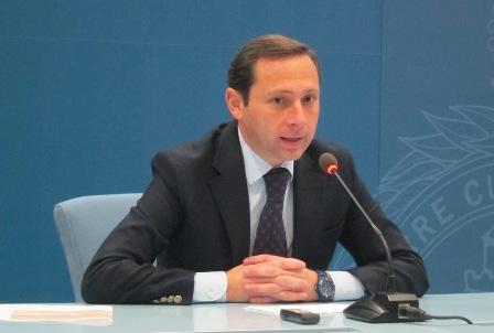 Rueda de prensa de Alejandro Márquez.