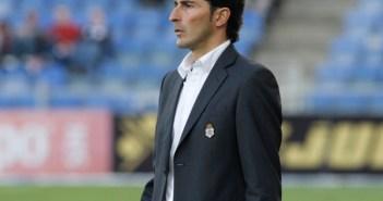Juanma Rodríguez, primer entrenador del Recreativo de Huelva. (J. Pérez)