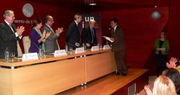 Entrega del Premio de Ciencias Sociales.