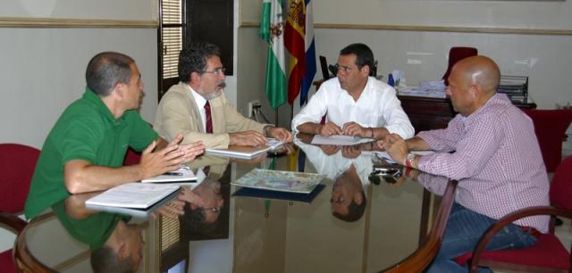 Reunión del PCTH y el Ayuntamiento de San Juan.