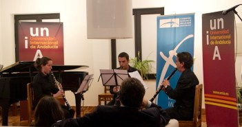 Uno de los conciertos celebrado este curso en la UNIA.