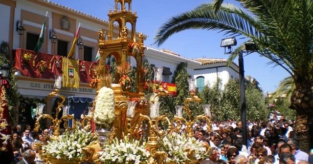 Imagen de archivo de la celebración del Corpus en Hinojos.
