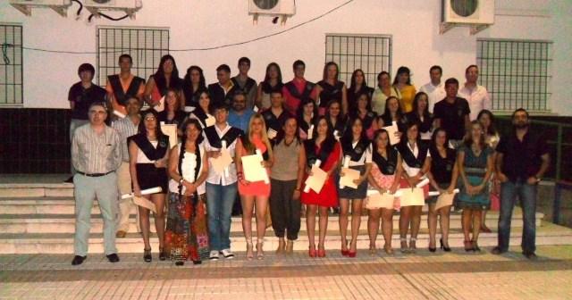 Graduación del IES de Paterna del Campo.