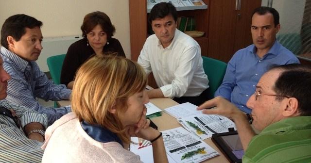 Reunión del grupo socialista con representantes de la economía social.