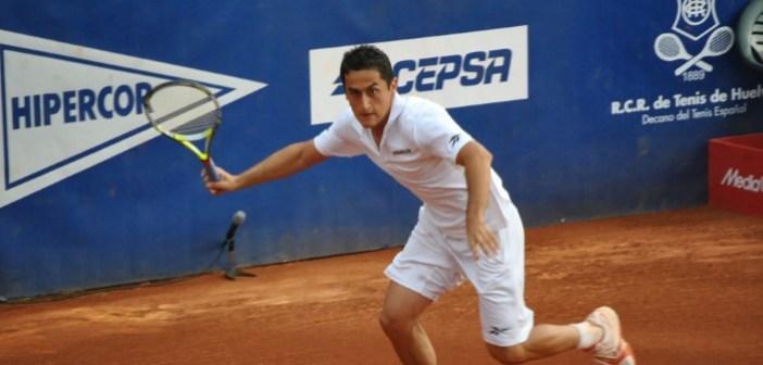 Nicolás Almagro, vigente campeón de la Copa del Rey de tenis.