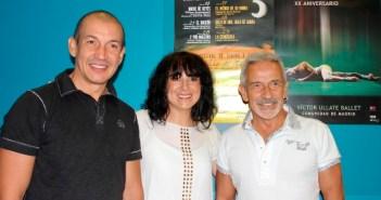 Rueda de prensa para presentar la representación de la compañía de Víctor Ullate.