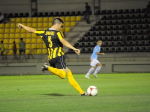 Germán, futbolista del San Roque.