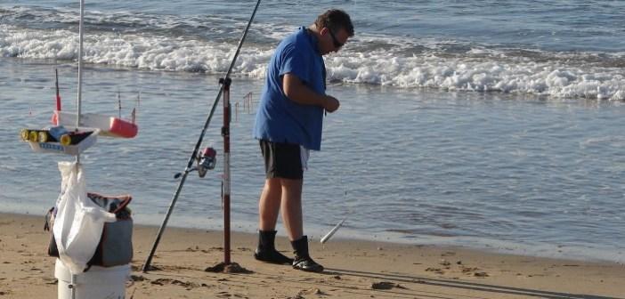 Campeonato de pesca en Cartaya.