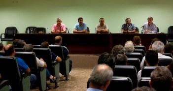 Reunión en Bonares de los agricultores.