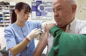 La vacunación contra la gripe no está impidiendo este año un alto grado de incidencia.