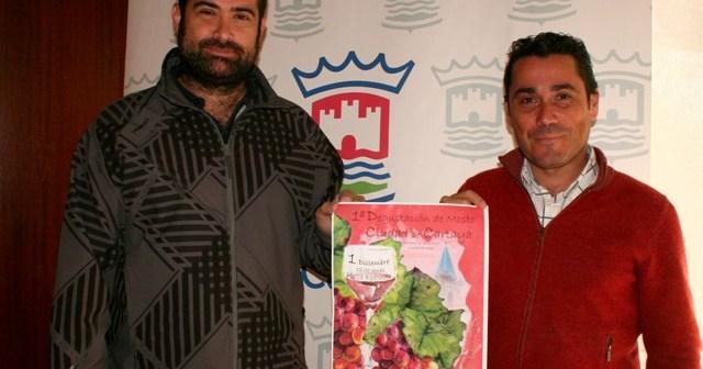 Cartel de la Feria del Mosto en Cartaya.