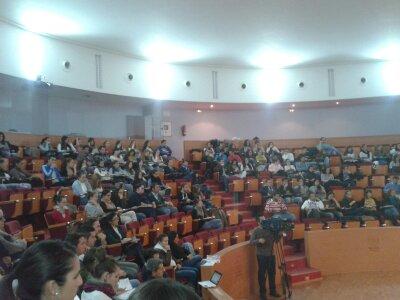Participantes en el Taller en la Universidad.