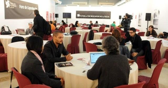 Foro de Coproducción en el Festival de Cine de Huelva.