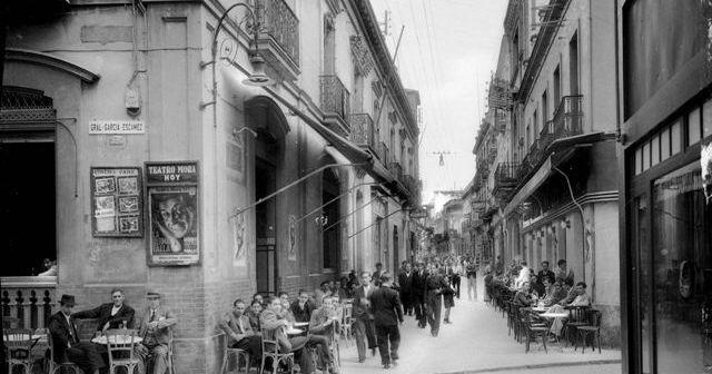 Foto antigua de Huelva que se incluirá en la muestra.
