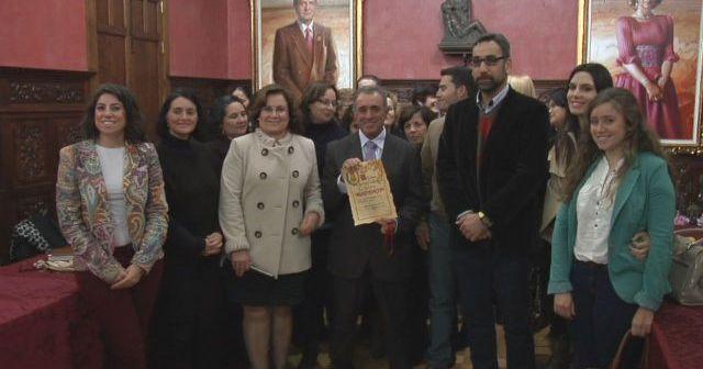 Homenaje a Agromartín en el Ayuntamiento de Ayamonte.