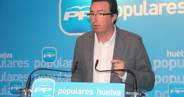 Manuel Andrés González, presidente provincial del PP.