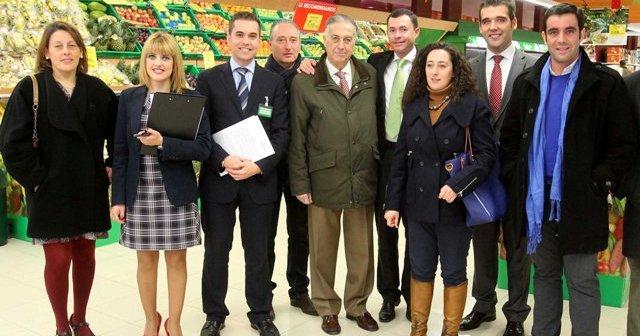 Inauguración del supermercado Mercadona de Cortegana.