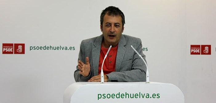 Pedro Domínguez, secretario general del PSOE en Valverde.