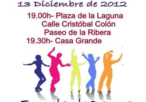 Cartel de la actividad en Ayamonte.