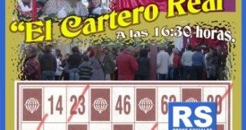 Cartel anunciador del Cartero Real ayamontino.