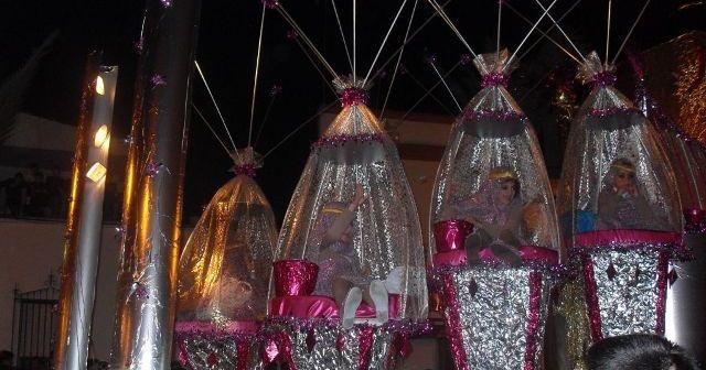 Cabalgata de Reyes en Bollullos.
