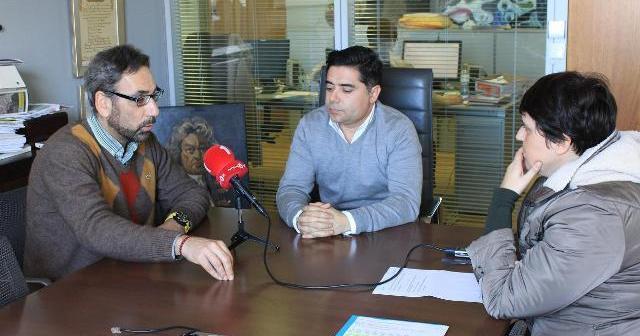 Los alcaldes de Ayamonte y Vila Real durante la reunión.