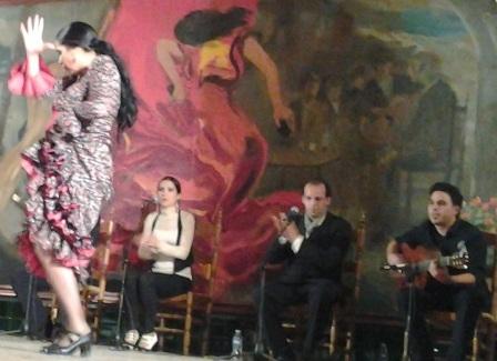 Actuación de Isabel Augusto.