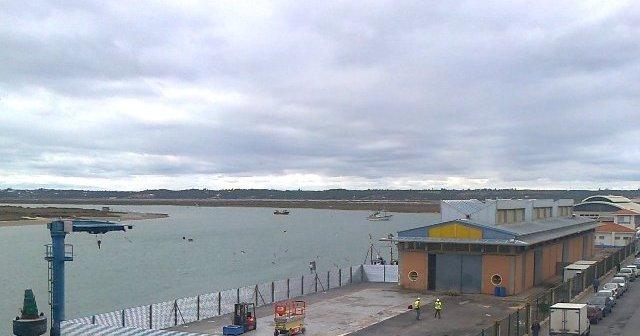 Zona del Puerto donde se realizarán las obras.