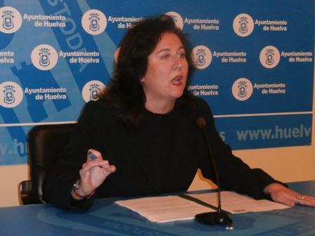 Esther Cumbreras, concejal del PSOE.
