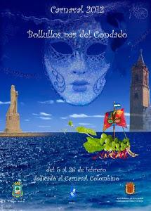 Cartel de 2012 del Carnaval de Bollullos.