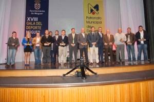 Premiados en la Gala del Deporte de Moguer.