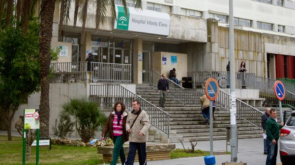 Hospital Infanta Elena de Huelva. (Julián Pérez)
