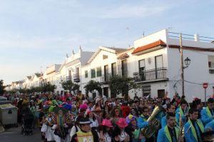 La participación en el carnaval bollullero ha sido siempre muy buena.