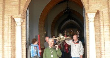 Tralasdo del Cristo de los Milagros en Moguer.