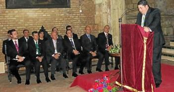 Alfonso Madrid durante su pregón.