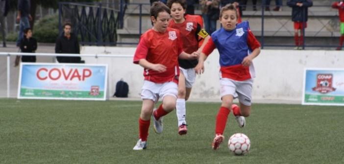 Copa Covap infantil de fútbol.
