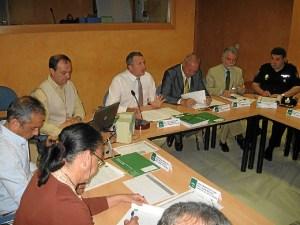 Reunión del comité asesor del Plan Infoca.
