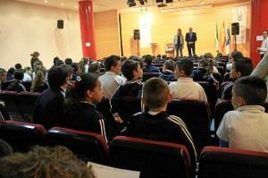 Clausura del programa Tuka por el alcalde de Huelva.