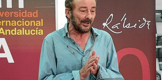 Imagen de archivo del actor Juan Diego, en la UNIA.