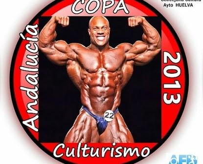 Cartel de la Copa de Andalucía de Culturismo.