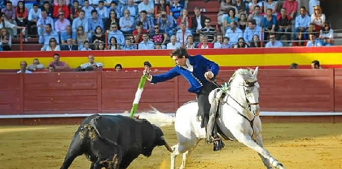 Estampa torera de Andrés Romero. (Vicente Medero)