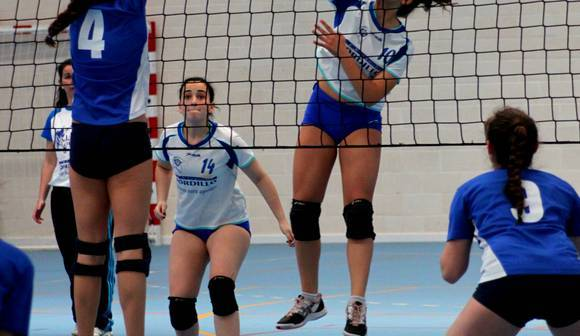 Andrea Raffo, jugadora de voleibol.