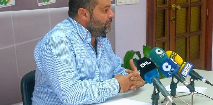 Rafael Sánchez en rueda de prensa.