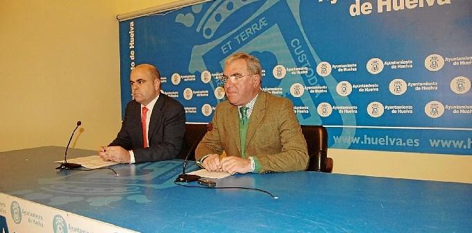 Sául Fernandez y Francisco Moro, en rueda de prensa.