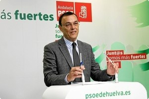 Ignacio Caraballo en rueda de prensa.