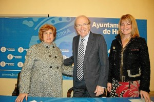 Firma del convenio con Aspapronias.